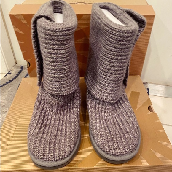 UGG Shoes - Ugg Classic Cardy Gray Boot